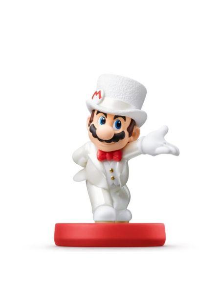 Figurine amiibo Super Mario - Mario en tenue de mariage