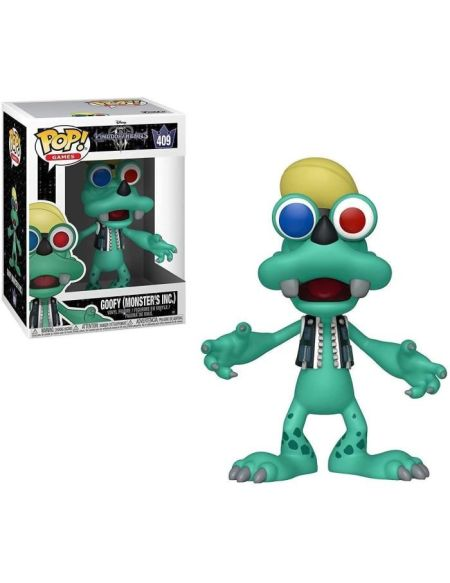 Figurine Funko Pop! Kingdom Hearts 3: Goofy (Monsters Inc.)