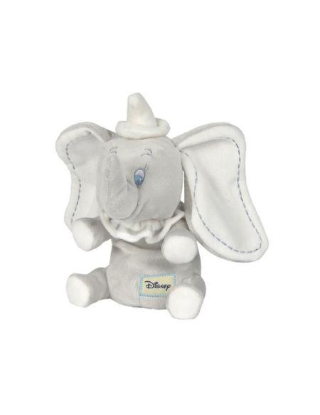 DISNEY Dumbo L'Éléphant Peluche Dumbo Assis 17 cm