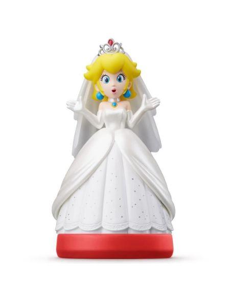 Figurine amiibo Super Mario Odyssey - Peach en tenue de mariage
