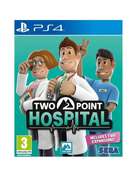 Two Point Hospital - Jeu PS4