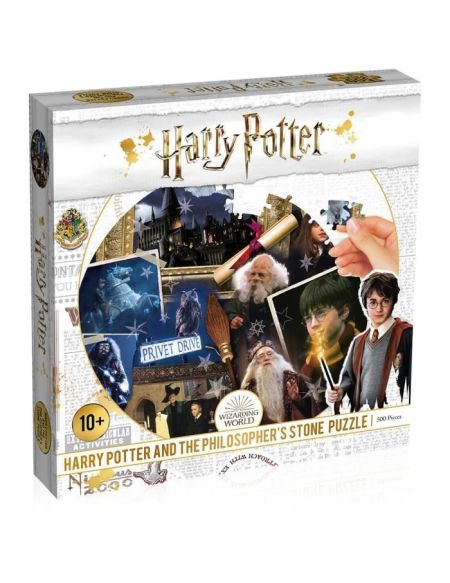 PUZZLE HARRY POTTER ET LA PIERRE PHILOSOPHALE 500 PIECES - NOUVELLE EDITION