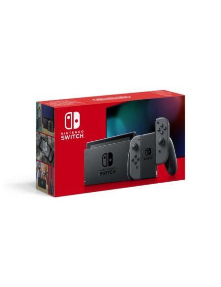 Console Nintendo Switch avec une paire de Joy-Con grises : Nouvelle version, Meilleure autonomie