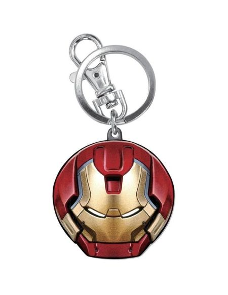 Porte Clé Avengers 2 Hulkbuster Tête Metallique