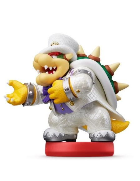 Figurine amiibo Collection Super Mario Odyssey - Bowser en tenue de mariage