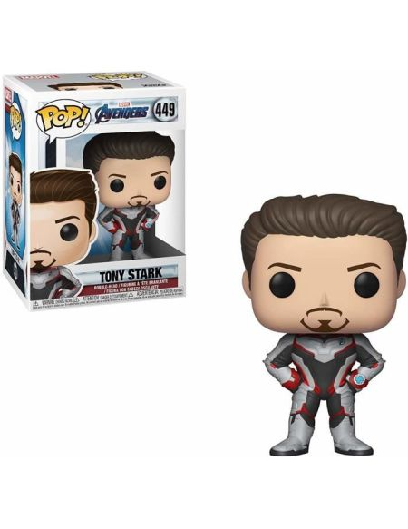 Figurine Funko Pop! Marvel : Avengers Endgame - Iron Man (TS)