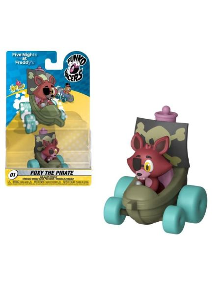 Figurine Funko Super Racers: Five Nights At Freddy's:Foxy le Pirate