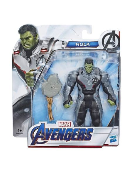 Marvel Avengers Endgame - Figurine Hulk Team Suit - 15 cm