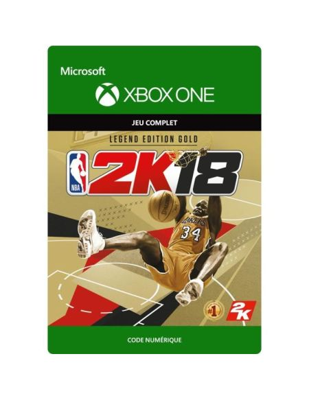 NBA 2K18 Edition Legend Gold Jeu Xbox One à télécharger