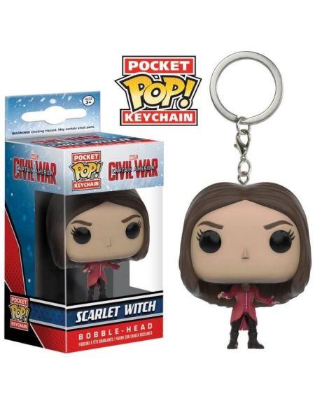 Porte-clé Funko Pocket Pop! Civil War : Scarlet Witch
