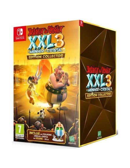Astérix & Obélix XXL 3 Le Menhir de Cristal Edition Collector Jeu Switch