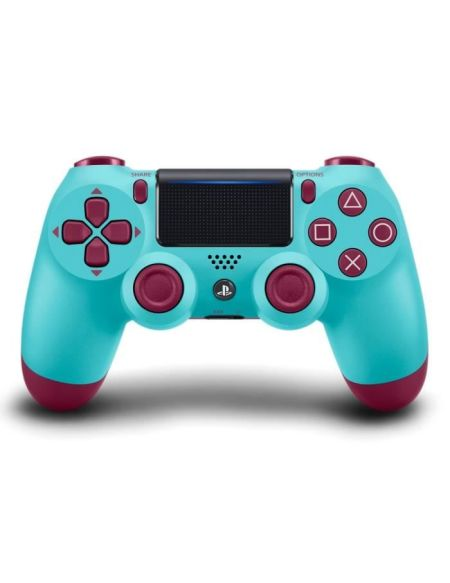 Manette PS4 DualShock 4.0 V2 Berry Blue - PlayStation Officiel