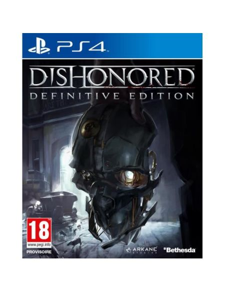 Dishonored Definitive edition Jeu PS4