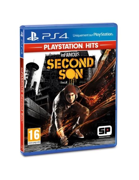 inFAMOUS: Second Son PlayStation Hits Jeu PS4