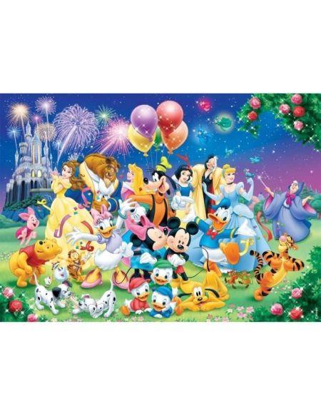 Puzzle 1000 pièces La famille Disney Collection Mes Héros NATHAN