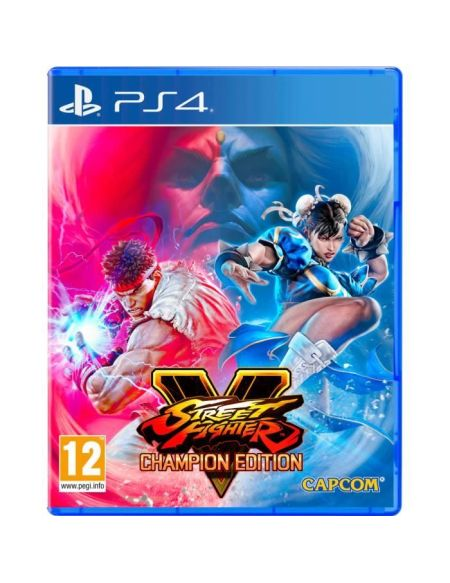Street Fighter V : Champion Edition Jeu PS4