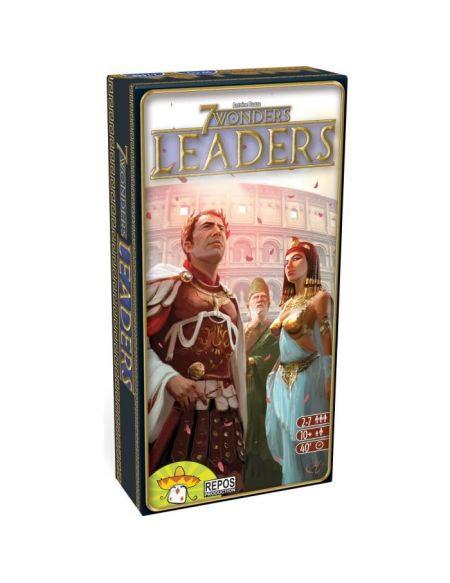 ASMODEE - 7 Wonders - Extension Leaders - Jeu de société