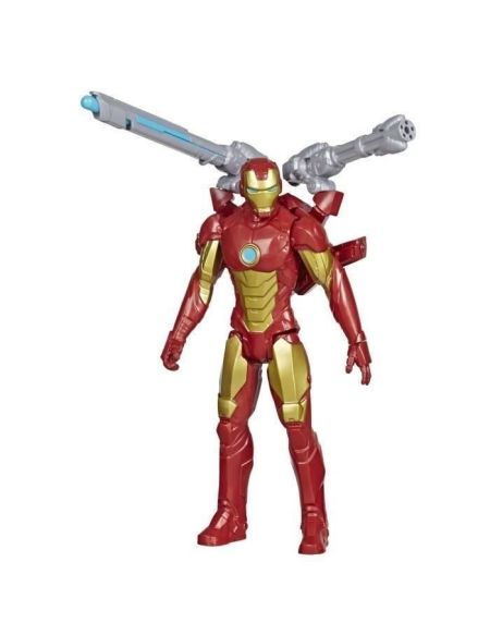 Marvel Avengers – Figurine Iron Man Titan Hero Blast Gear - 30 cm