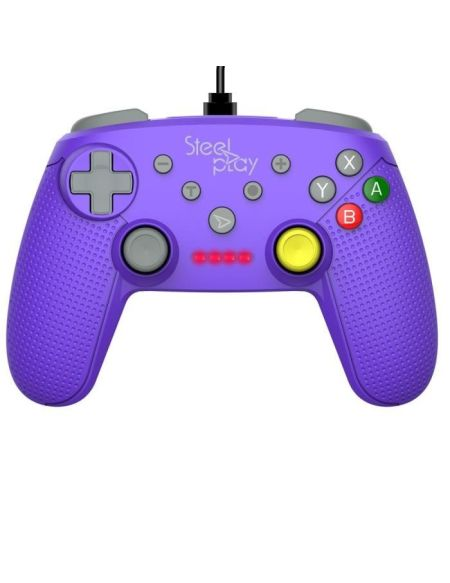 Manette Steelplay filaire indigo pour Switch