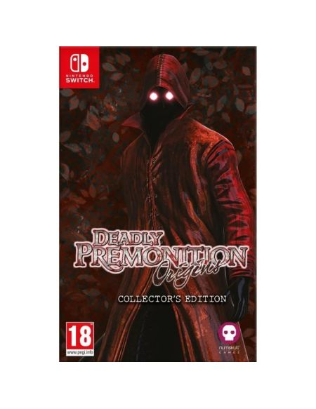 Deadly Premonition Origins Collector Jeu Nintendo Switch
