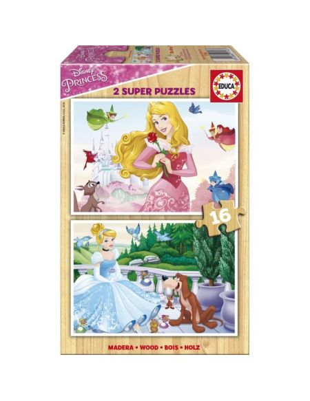EDUCA - Puzzle 2x16 DISNEY Princesses