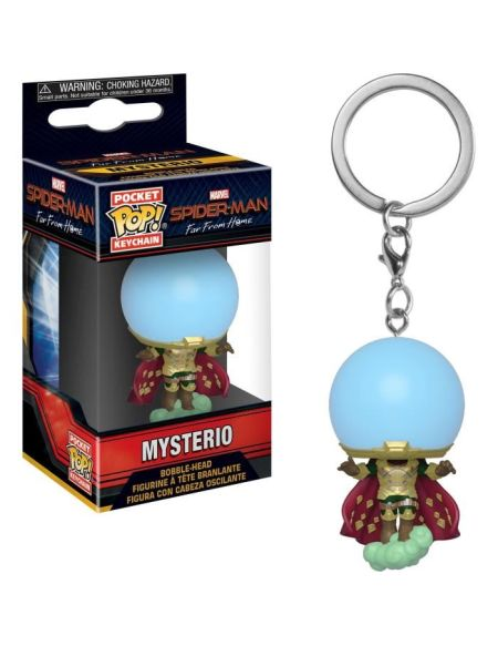 Porte-clés Funko Pop! - Spider-Man : Far From Home - Mysterio