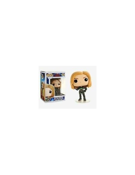 Figurine Funko Pop : Marvel - Captain Marvel w/Neon Suit