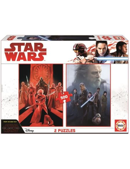 EDUCA Star Wars Episode VIII Puzzle 2x500 pièces