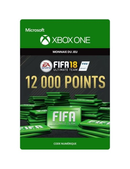 FIFA 18 Ultimate Team 12 000 Pts Xbox One