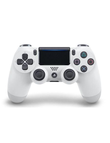 Manette PS4 DualShock 4.0 V2 Blanche/Glacier White - PlayStation Officiel