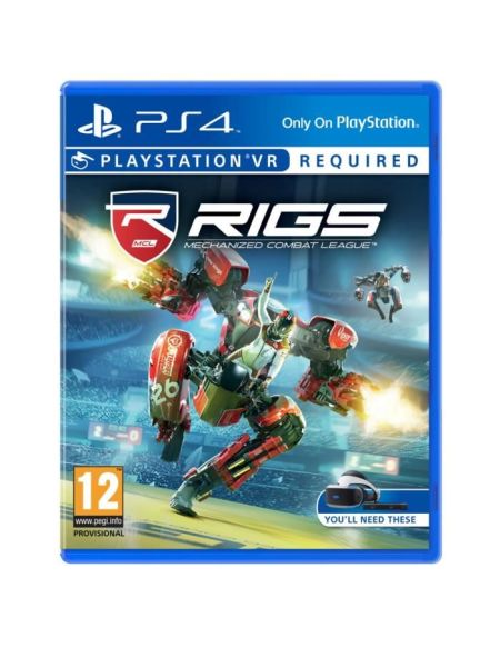 RIGS: Mechanized Combat League Jeu PSVR