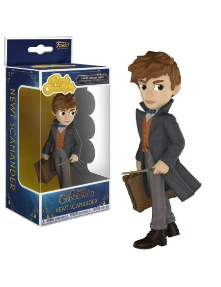 Figurine Funko Rock Candy: Les Animaux Fantastiques 2: Newt Scamander
