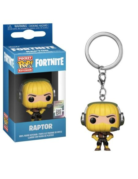 Porte-clé Funko Pocket Pop! Fortnite - Raptor