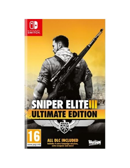 Sniper Elite 3 Ultimate Edition Jeu Switch
