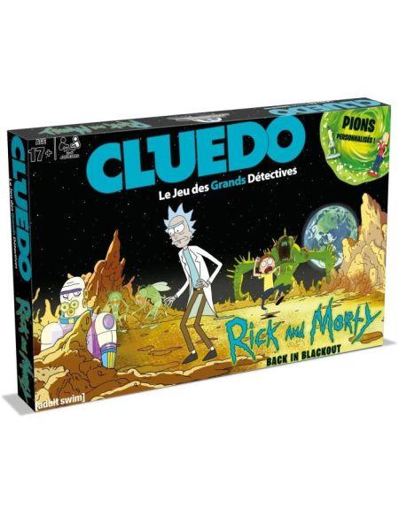 CLUEDO - Rick et Morty - Jeu de societé - Version française