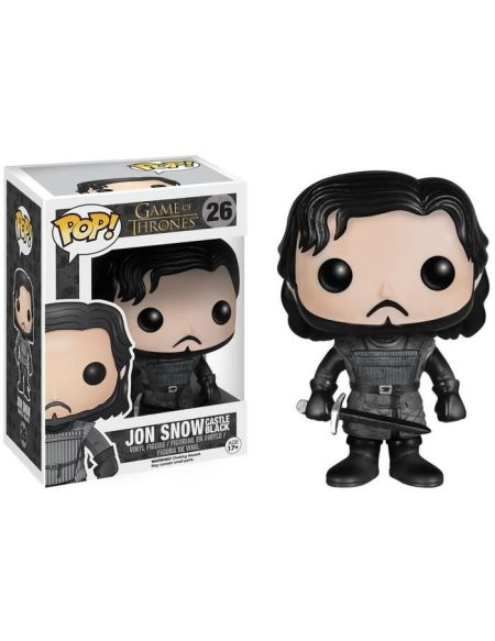 Figurine Toy Pop N°61 - Game of Thrones - Série 8 Jon Snow Au-delà du mur