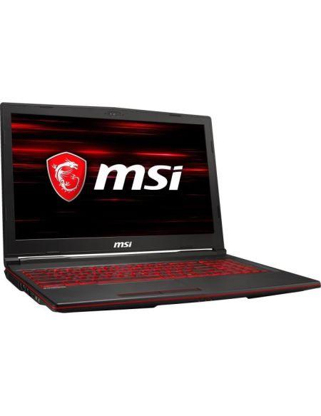 "PC Portable Gamer - MSI GL63 8RD-671FR - 15,6"" FHD - Core i7-8750H - RAM 16Go - Stockage 1To HDD + 256Go SSD - GTX 1050 Ti 4Go - W10"