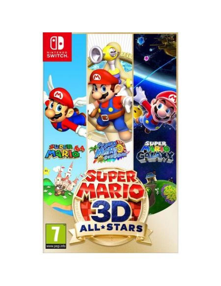 Super Mario 3D-All Stars - Edition Limitée - Jeu Nintendo Switch