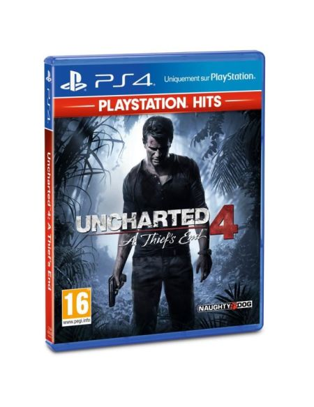 Uncharted 4: A Thief's End PlayStation Hits Jeu PS4