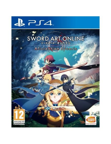 Sword Art Online Alicization Lycoris Jeu PS4