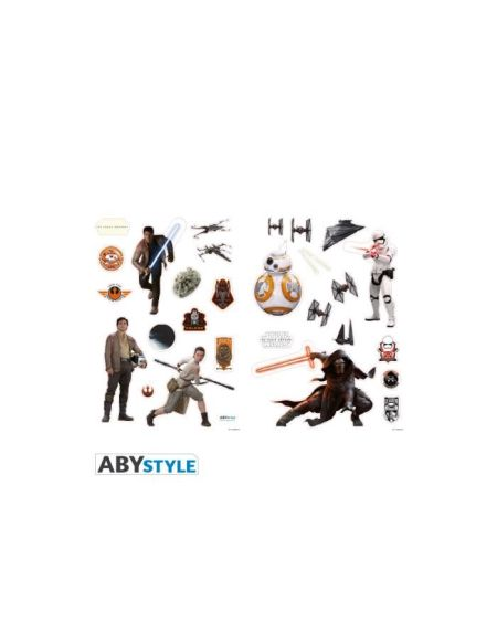 "Stickers Star Wars - 100x70cm - ""The Force Awakens"" (blister) - ABYstyle"