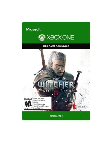 The Witcher 3 : Wild Hunt + Hearts of Stone Jeu Xbox One en téléchargement