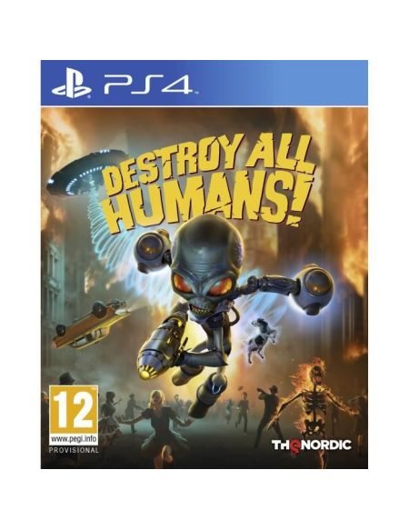 Destroy All Human ! Jeu PS4