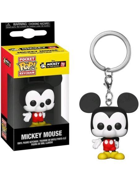 Porte-clé Funko Pocket Pop! Disney: Mickey Mouse 90th Anniversary