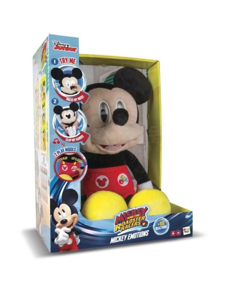 MICKEY Peluche interactive sonore - Mickey Emotions