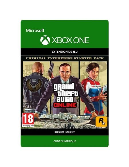 DLC Grand Theft Auto V: Criminal Enterprise Starter Pack pour Xbox One