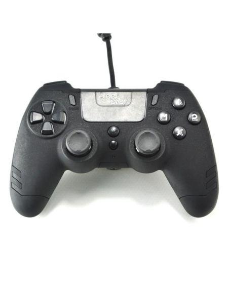 Manette filaire SteelPlay Metaltech Noire pour PS4