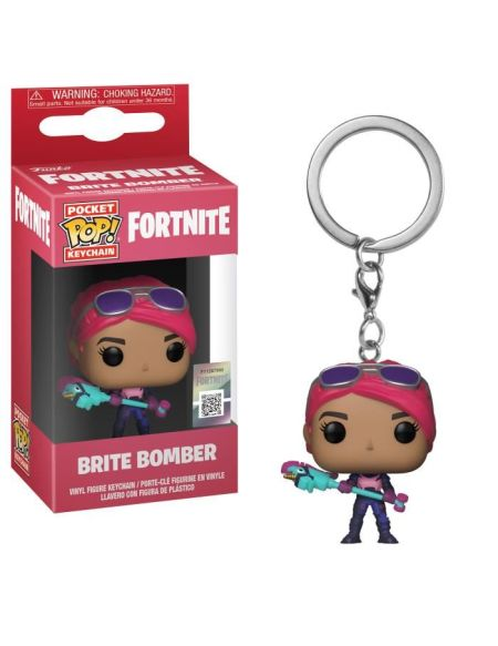 Porte-clé Funko Pocket Pop! Fortnite - Brite Bomber