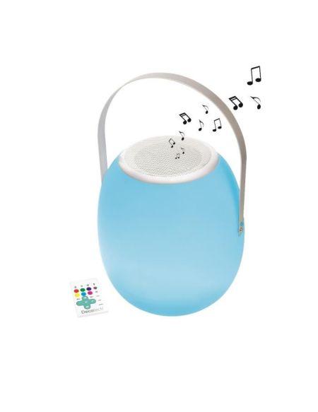 LEXIBOOK - DECOTECH - Lampe LED RGB nomade avec enceinte Bluetooth intégrée