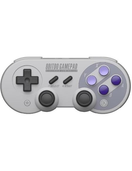 Manette Gamepad bluetooth crème 8Bitdo SN30 Pro G pour Switch